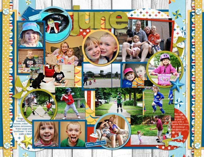 June Calendar Page