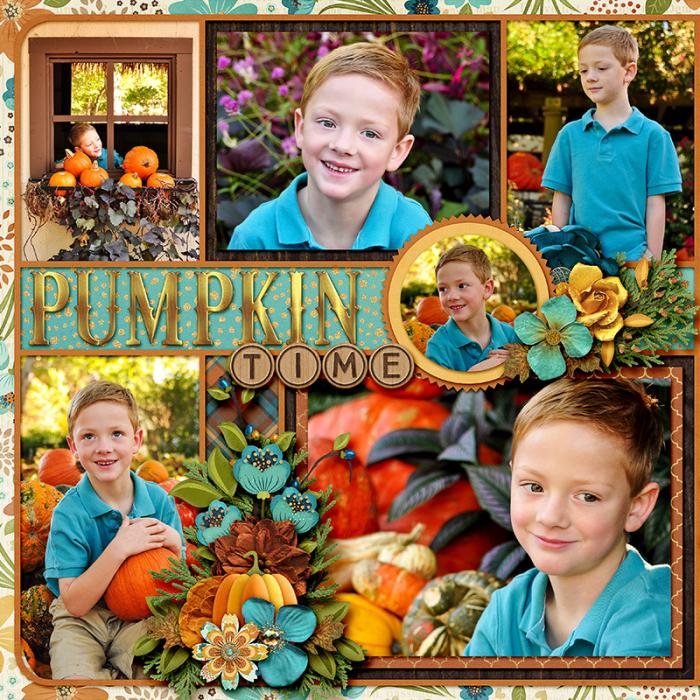Pumpkin Time left