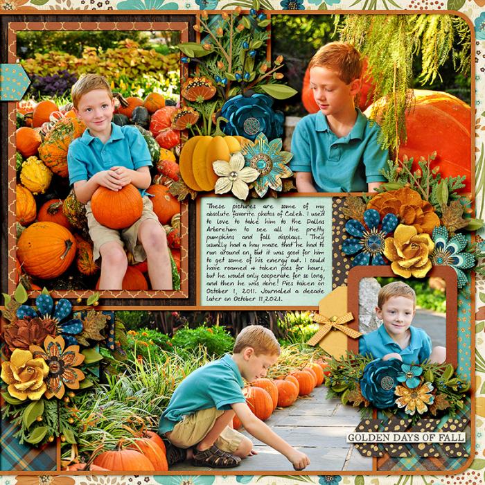 Pumpkin Time right