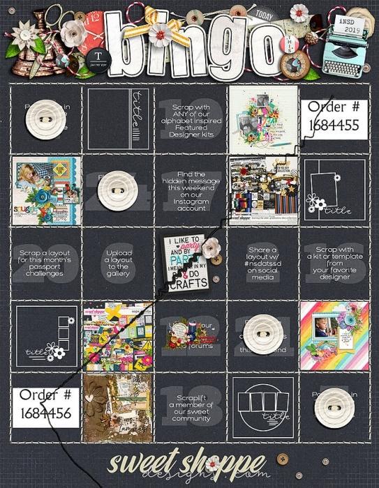 NSD Bingo
