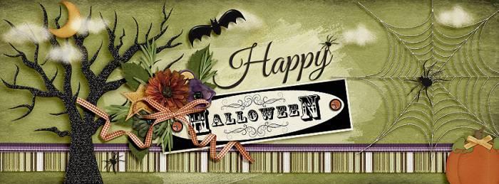 Facebook Timeline - Halloween