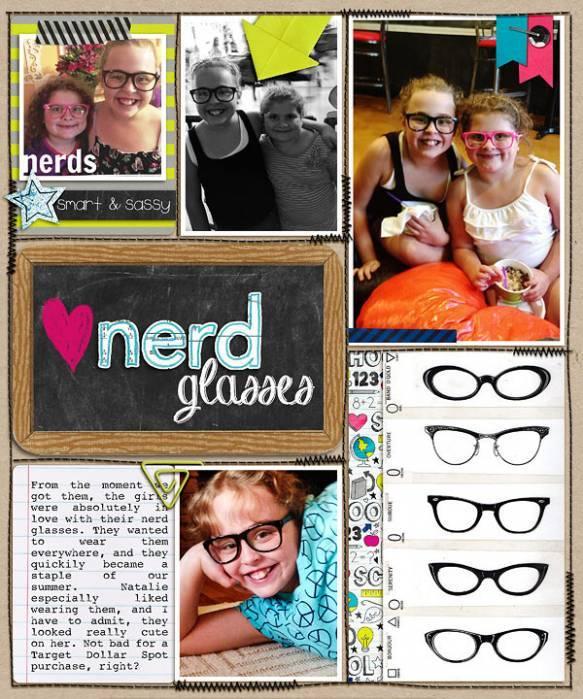 Nerd Glasses Insert