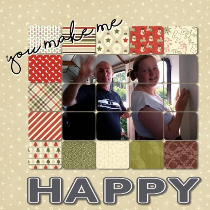 Dec. 18 - Happy (Joy, Peace, Love)