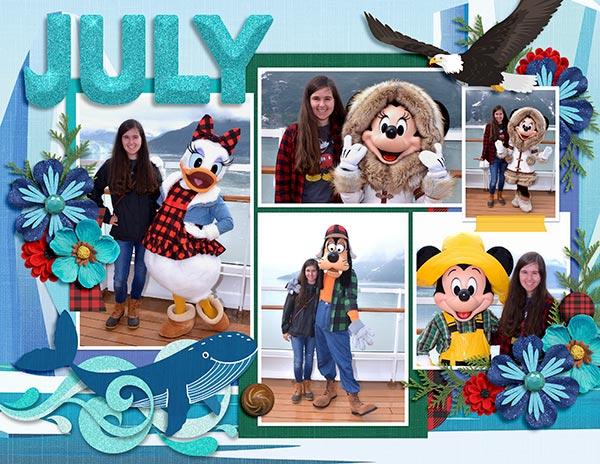 2020 Disney Calendar - July