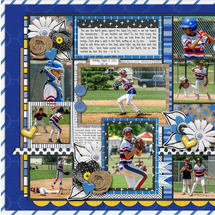 State Baseball - Game 4 (Left)