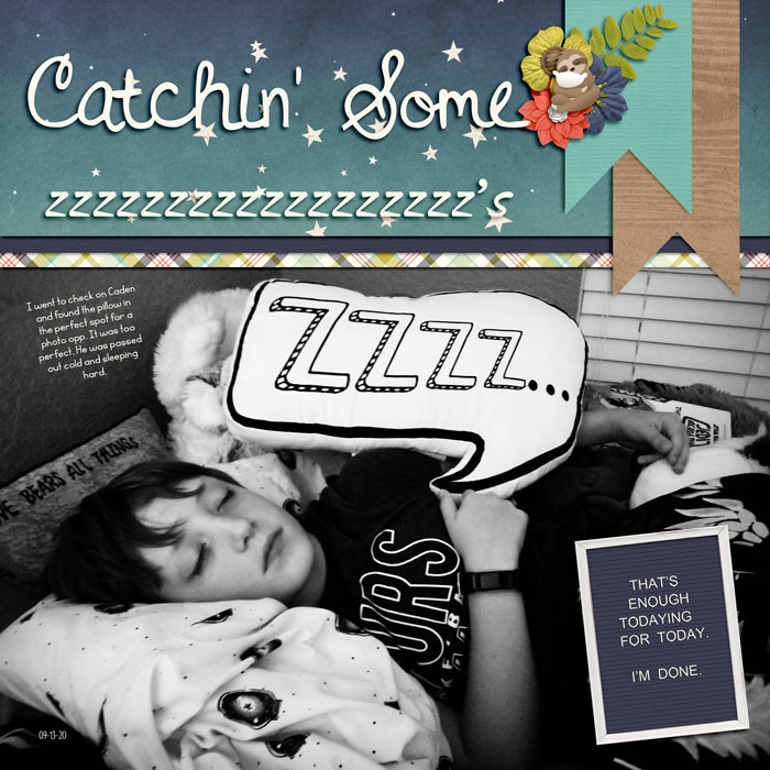 Catchin' Some zzzzs