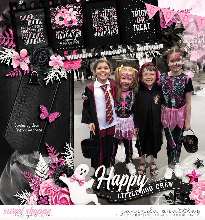 Happy little boo crew