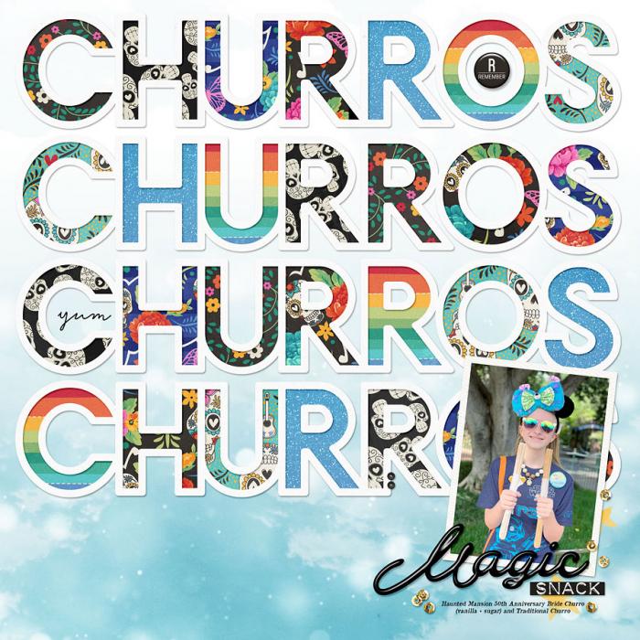 Raileigh's Churros Snack- Disneyland September 2019