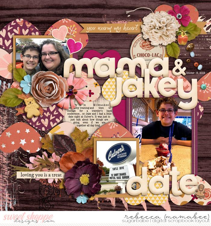 Mama and jakey date