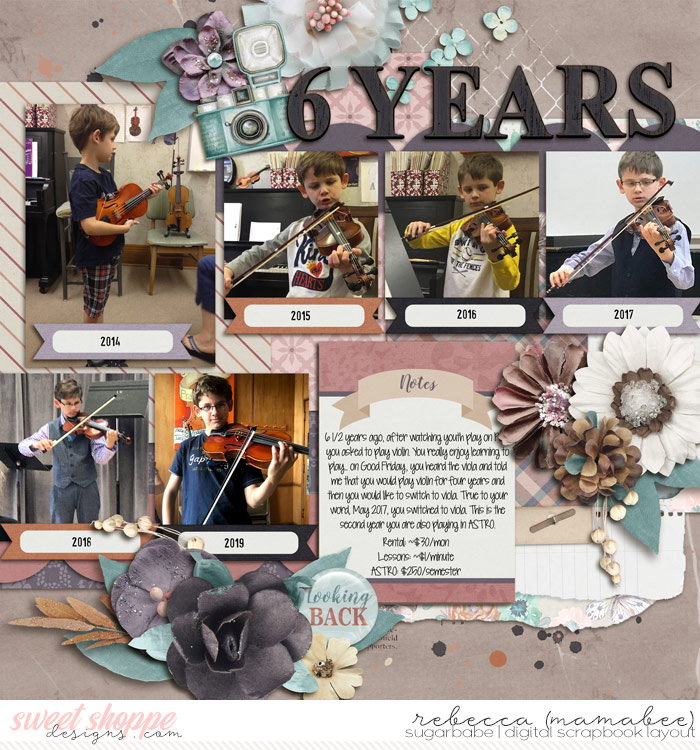 6 years violin and viola