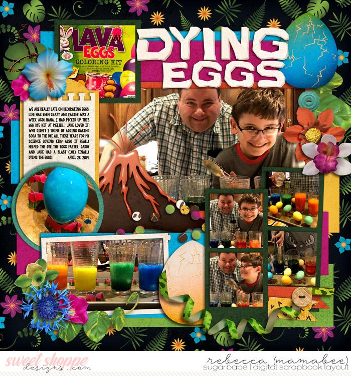 dying dinosaur eggs