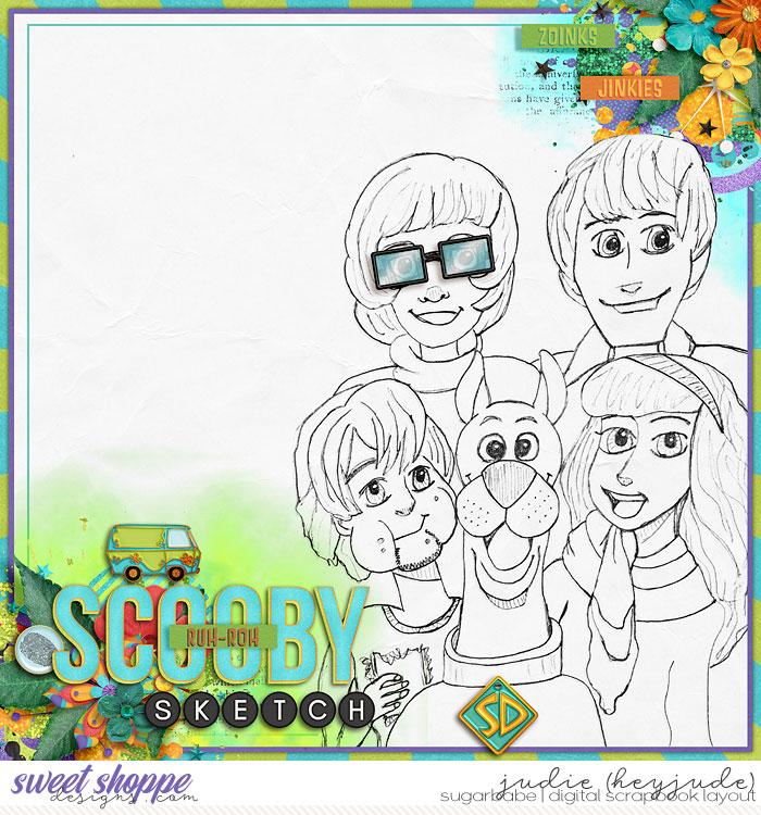 Scooby Sketch