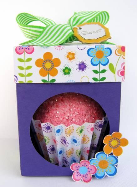 Cupcake Treat Box :)