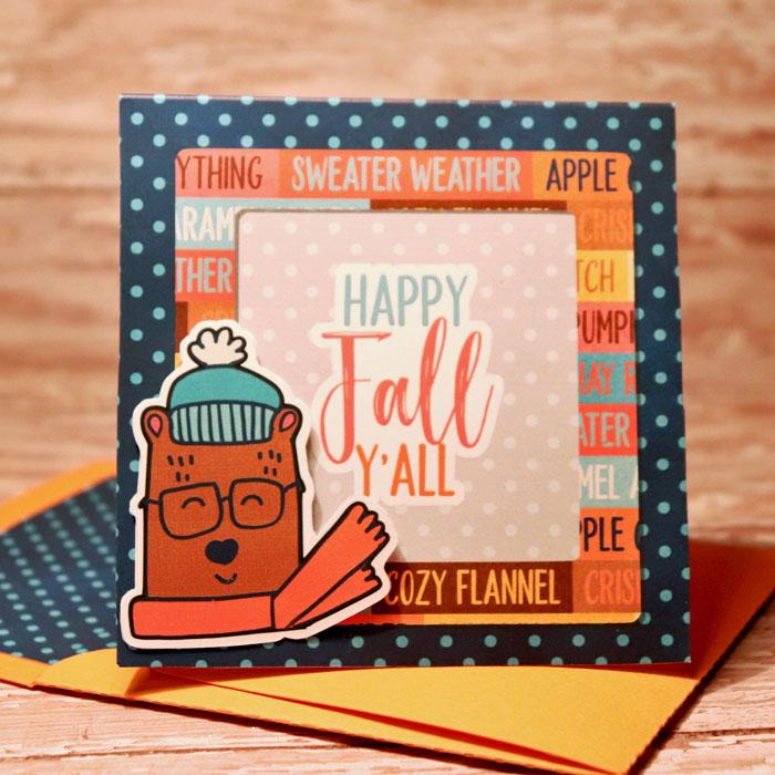 Happy Fall Yall card