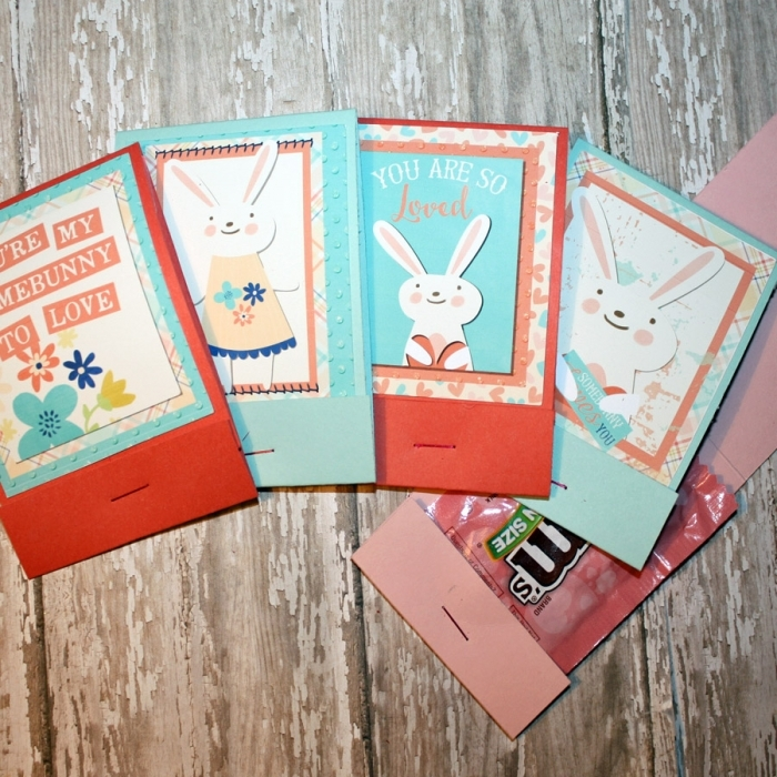 Some bunny Loves you Matchbook Valentines
