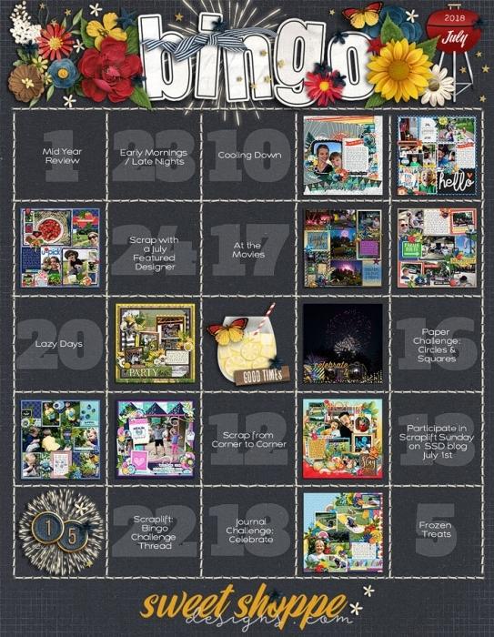 July bingo