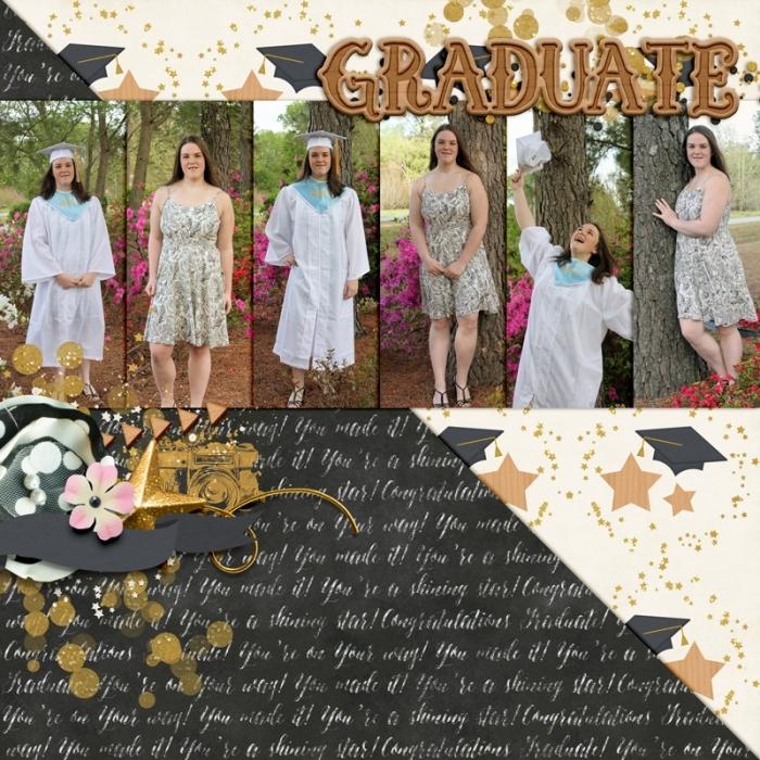 Brooke's Graduation Pics 2018
