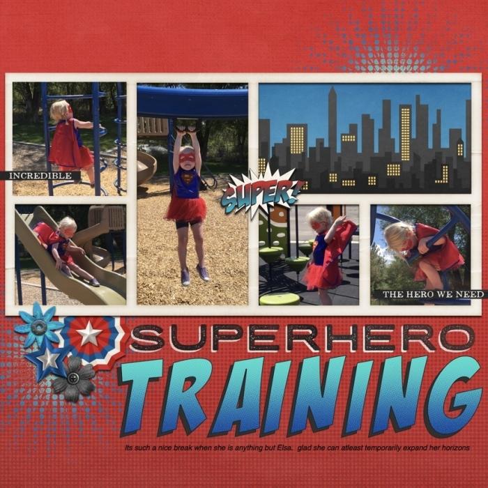 super hero training