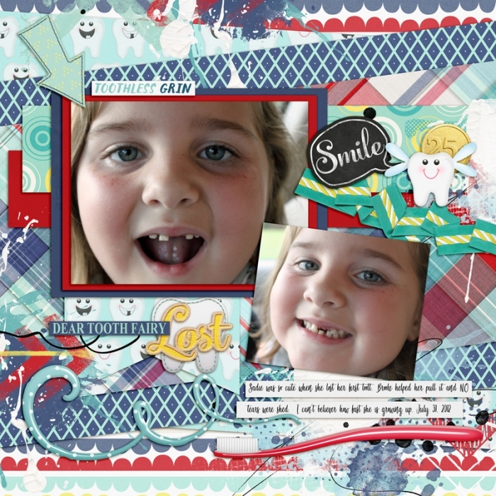 Sadie's First Lost Tooth July 2012