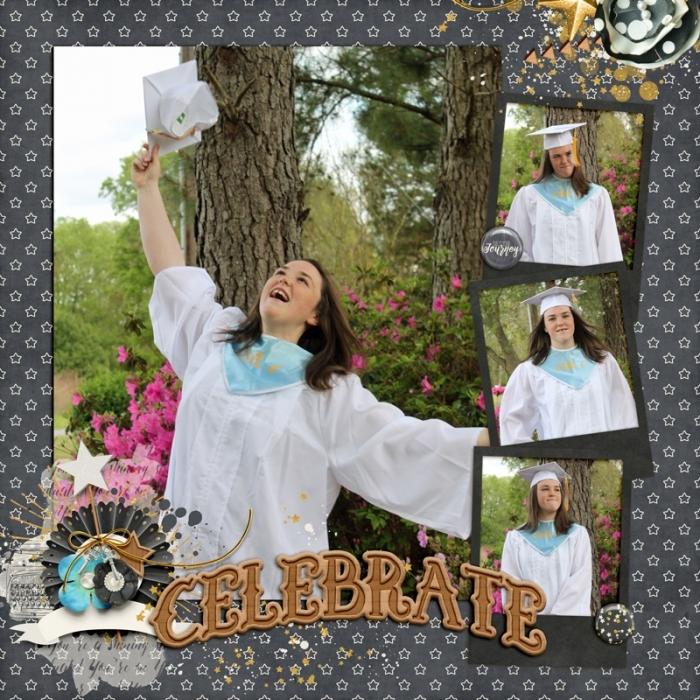 Brooke's Silly Graduation pics 2018