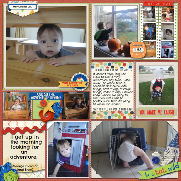 Tiny Adventures Every Day - March Passport #8