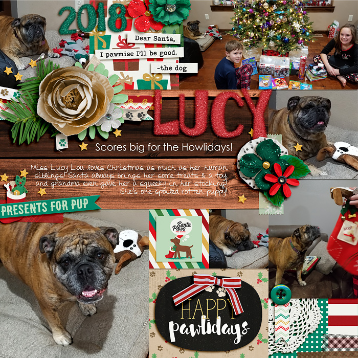 Lucy Scores Big for the Howlidays!