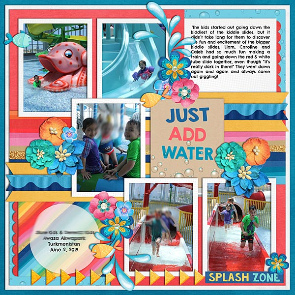Just Add Water- #2 June Passport