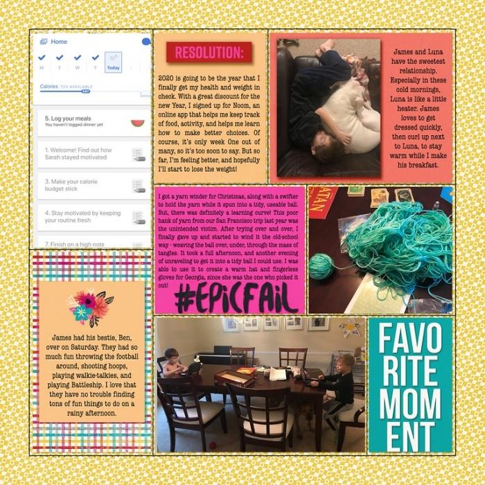 #14 Week 2 page 2 2020