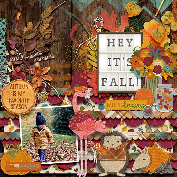 Hey, it's fall