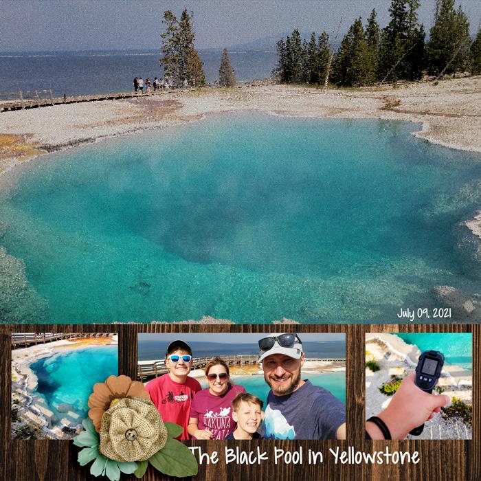 Black Pool Yellowstone 2021